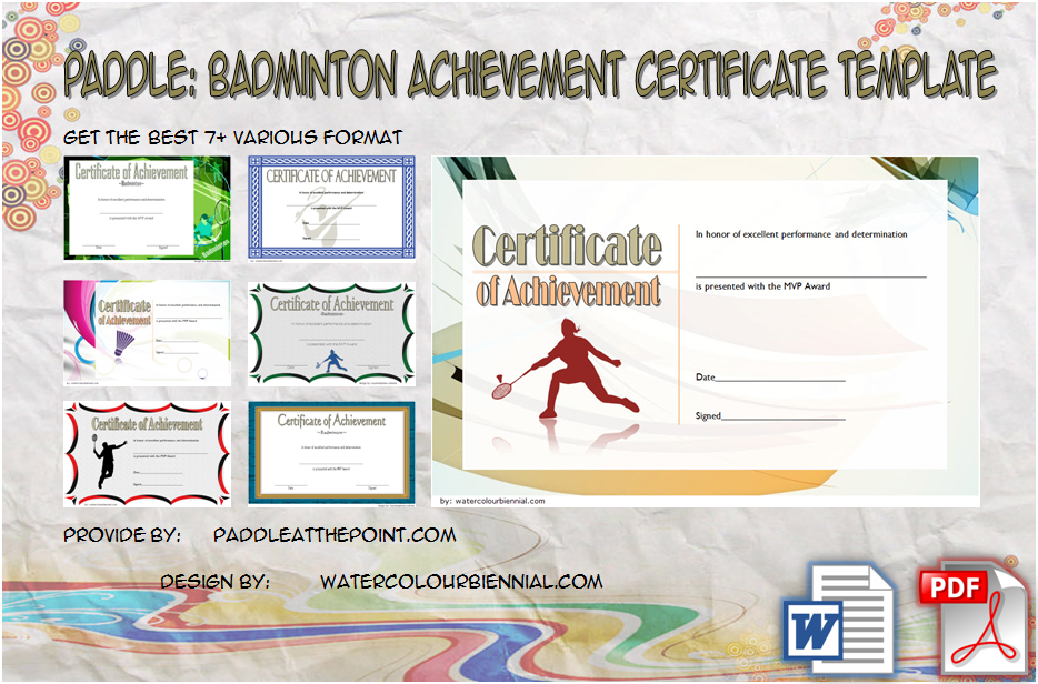 badminton achievement certificates, sports certificate design templates free download, badminton achievement certificate template, badminton tournament certificate template, badminton certificate of participation, certificate of appreciation badminton, free badminton certificate template, sports day certificate template