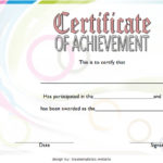 Basketball Achievement Certificate Template 1