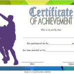 Basketball Achievement Certificate Template 2
