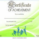 Basketball Achievement Certificate Template 4