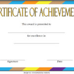 Basketball Achievement Certificate Template 7