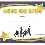 Basketball Certificate Template 2