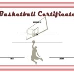 Basketball Certificate Template 5