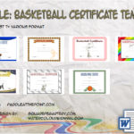 Basketball Certificate Templates By Paddle