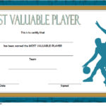 Basketball MVP Certificate Template 10