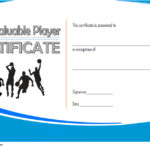 Basketball MVP Certificate Template 4