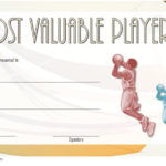 Basketball MVP Certificate Template 5