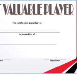 Basketball MVP Certificate Template 6