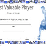Basketball MVP Certificate Template 9