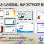 Basketball MVP Certificate Templates By Paddle