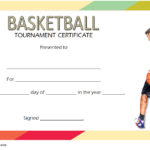 Basketball Tournament Certificate Template 1
