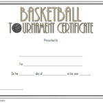 Basketball Tournament Certificate Template 3