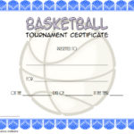 Basketball Tournament Certificate Template 5