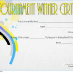 Basketball Tournament Certificate Template 8
