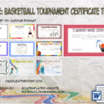 Basketball Tournament Certificate Template By Paddle