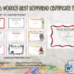 Best Boyfriend Certificate Template By Paddle