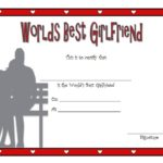 Best Girlfriend Certificate Template 1