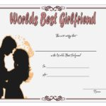 Best Girlfriend Certificate Template 2