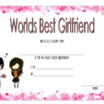 Best Girlfriend Certificate Template 3