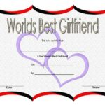 Best Girlfriend Certificate Template 5