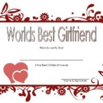 Best Girlfriend Certificate Template 6