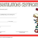 Congratulation Winner Certificate Template Funny