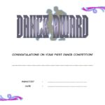 Dance Award Certificate Template 6