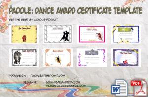 Dance Award Certificate Template – 8+ Best Ideas