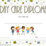 Daycare Diploma Template Free