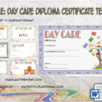 Daycare Diploma Certificate Templates By Paddle