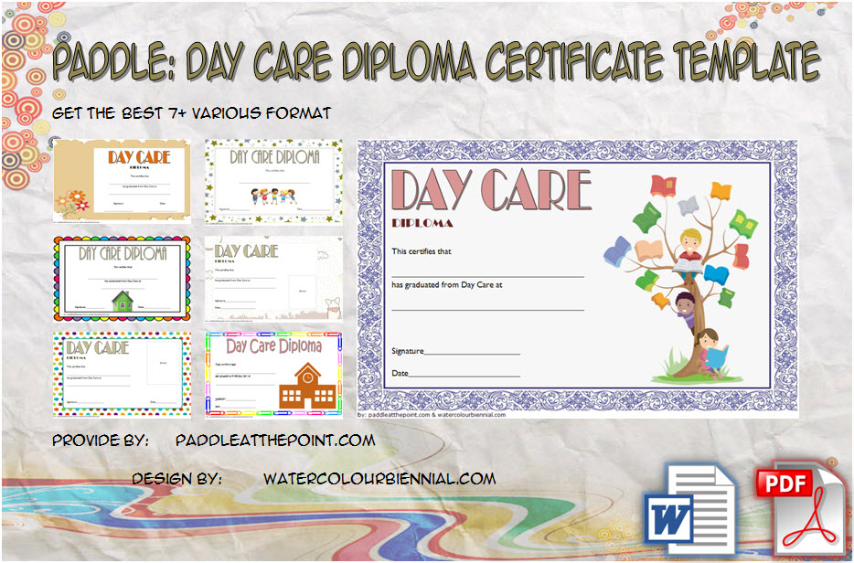 Daycare Diploma Template