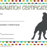 Dog Obedience Certificate Template 8