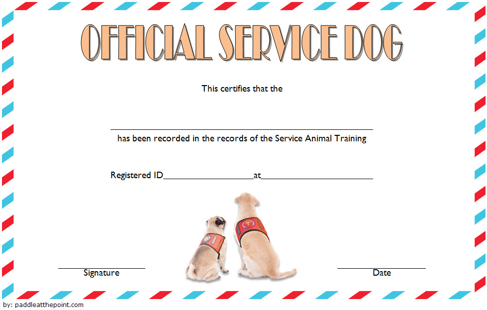 dog training certificate template, dog training graduation certificate template, certificate of training completion template, dog obedience certificate template, service dog certificate template, dog show certificate template, certificate of dog adoption template