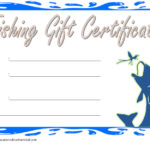 Fishing Gift Certificate Template 4