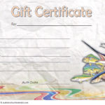 Fishing Gift Certificate Template 5