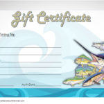 Fishing Gift Certificate Template 6