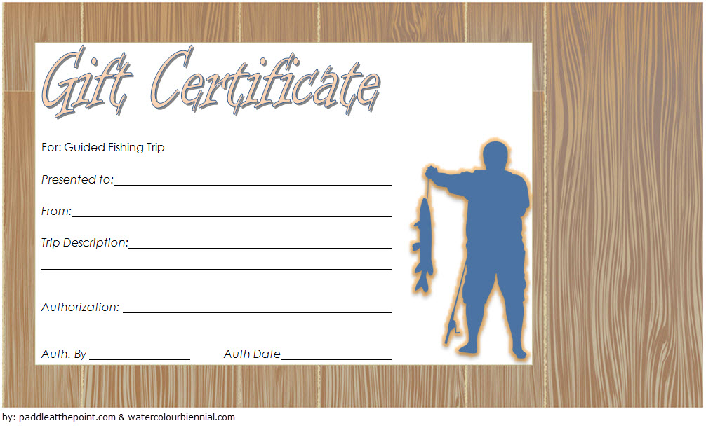 Fishing Gift Certificate Template 7