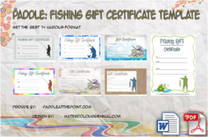 Fishing Gift Certificate Template – 7+ Inspirational Designs