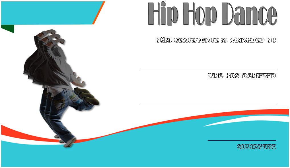 hip hop certificate templates, hip hop dance certificate template, hip hop dance certificate format, best dancer certificate, dance award certificate template, street dance certificate template