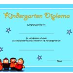 Kindergarten Completion Certificate Template 5