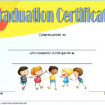 Kindergarten Completion Certificate Template 9