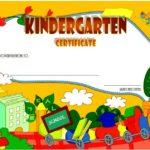 Kindergarten Diploma Certificate Template 7