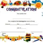 Kindergarten Diploma Certificate Template 8