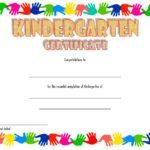 Kindergarten Graduation Certificate Printable 5