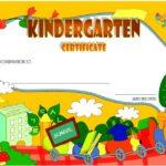 Kindergarten Graduation Certificate Printable 6