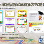 Kindergarten Graduation Certificate Printable By Paddle