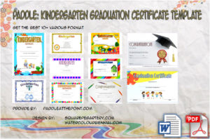 Kindergarten Graduation Certificate Printable: 10 Ideas FREE