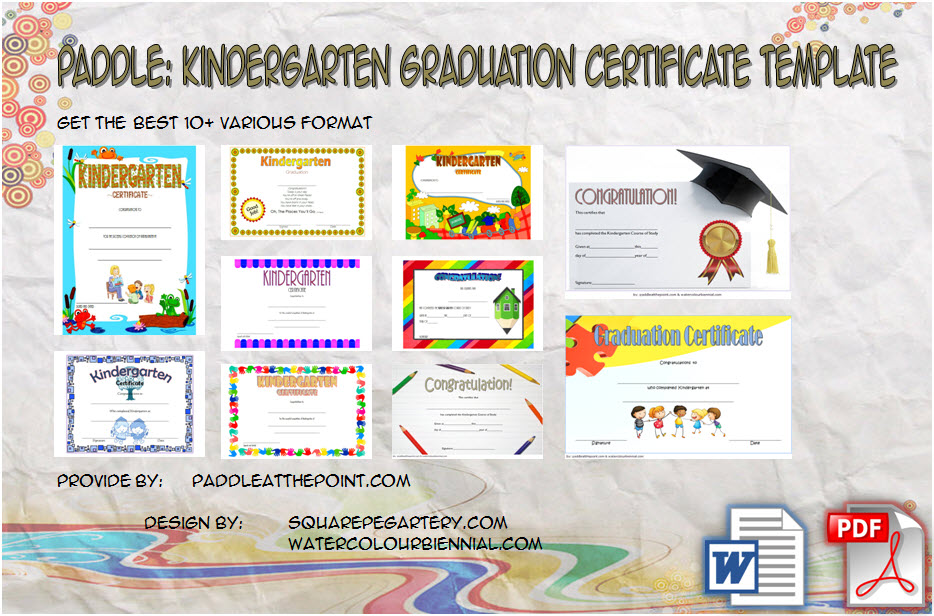 Download 10+ Template Ideas of Kindergarten Graduation Certificate Printable free. Can be used for homeschool, transitional, end of year with photo.
