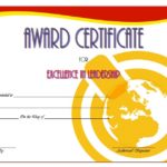 Leadership Award Certificate Template 3