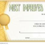 Most Improved Student Certificate Template 10